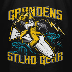 STLHD Men's Grundéns X STLHD Captain Chaos Black T-Shirt - Multiple Colorways