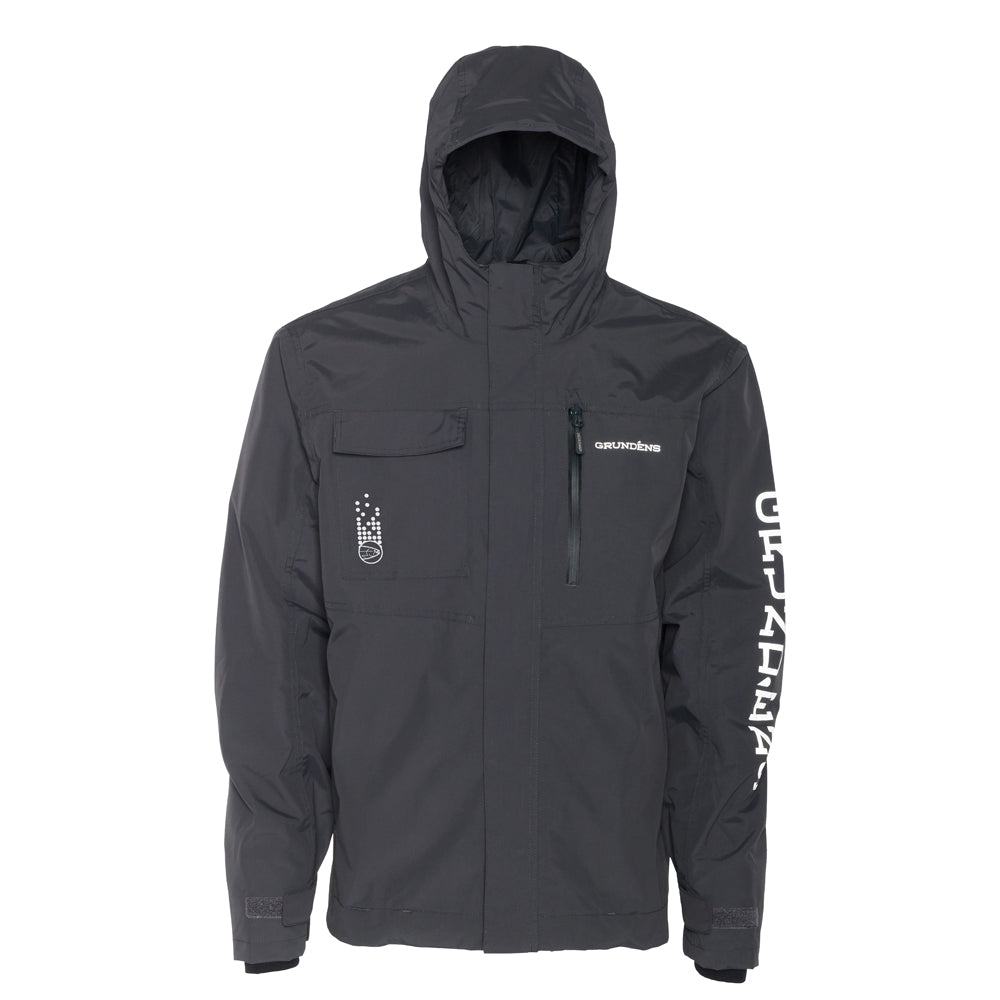 STLHD X Grundéns Men's Transmit Anchor Grey Jacket