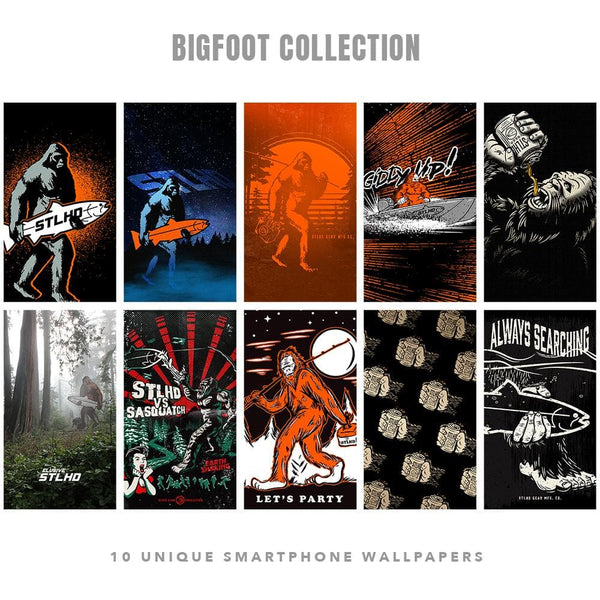 STLHD Bigfoot Smartphone Wallpapers - 10 - hhoutfitter