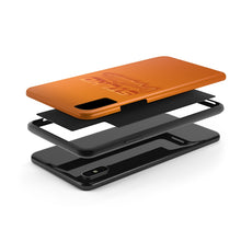 Load image into Gallery viewer, STLHD Orange Wave Smartphone Case - hhoutfitter