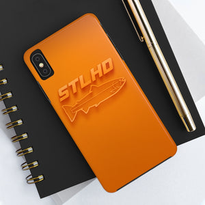 STLHD Orange Wave Smartphone Case - hhoutfitter