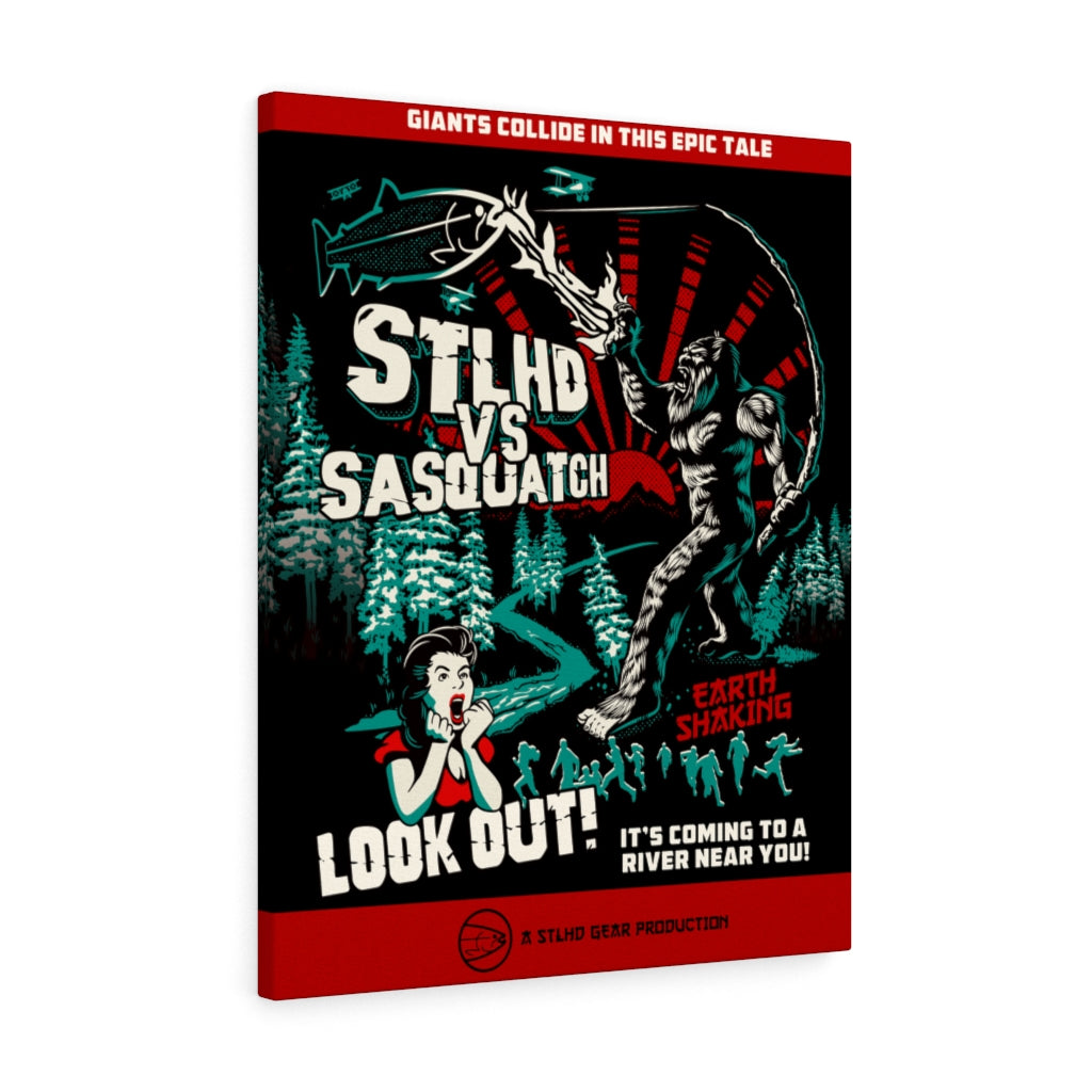 STLHD VS Sasquatch Canvas Gallery Wrap - 24 x 30 - hhoutfitter