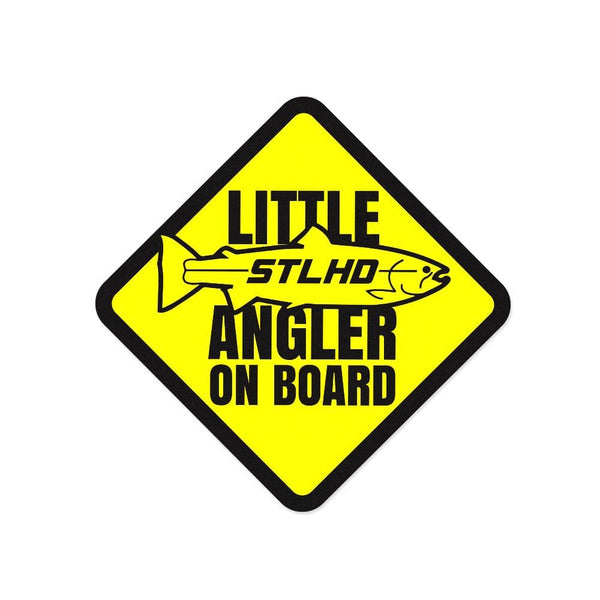 STLHD Little Angler Sticker - 5