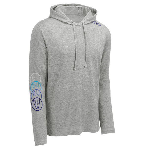 STLHD Men's Mckenzie River Heather Grey Lightweight Hoodie - H&H Outfitters