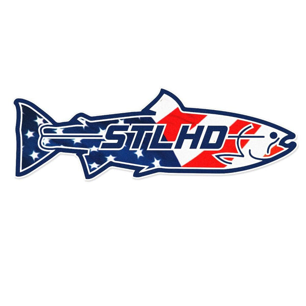 STLHD Large USA Boat Decal - 24