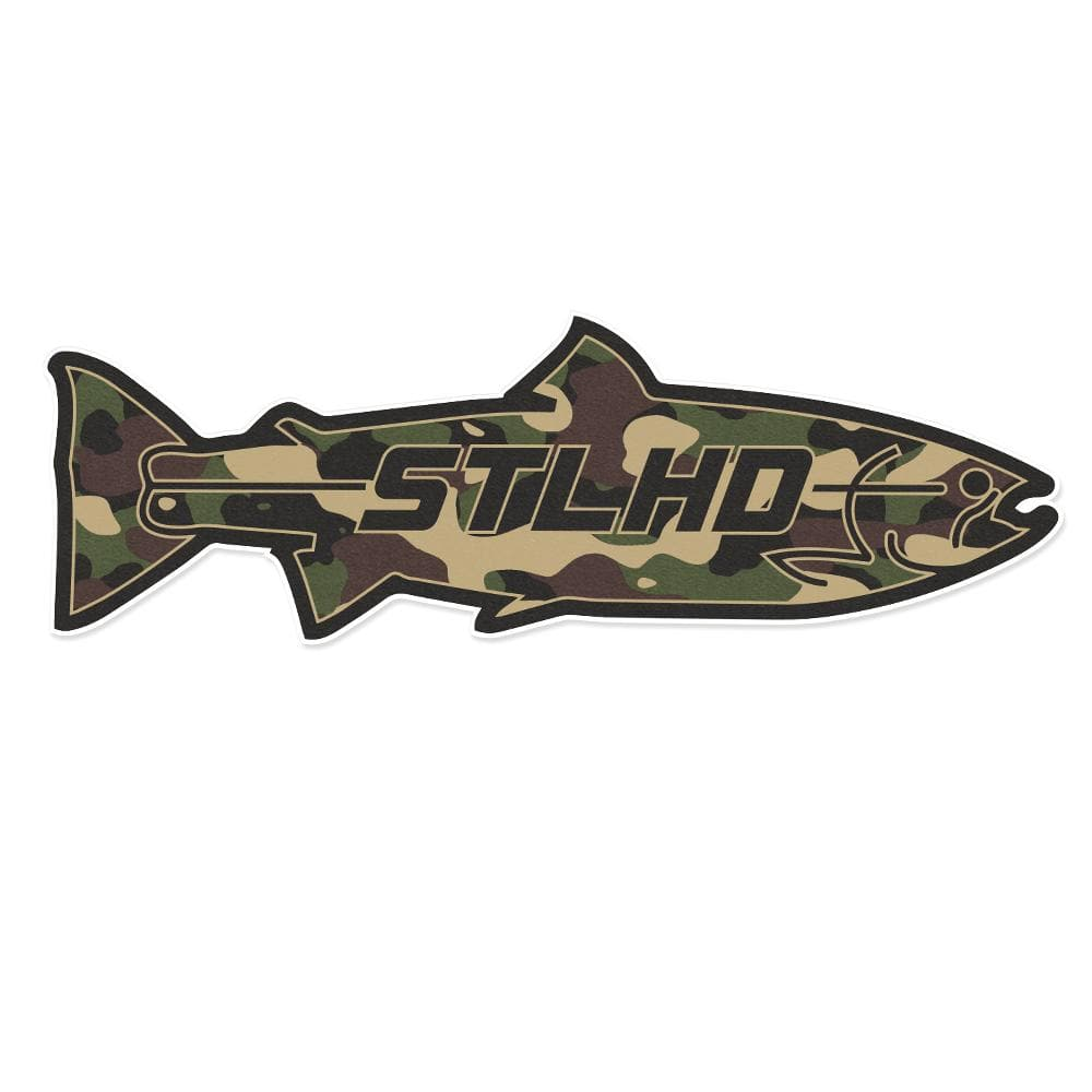 STLHD Large Camo Boat Decal - 24