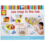 USA Map Kids Bath Tub