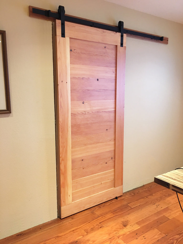 Barn Doors Make A Proud Entrance
