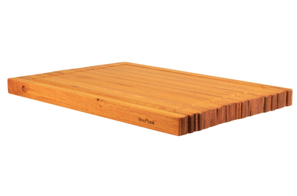 vinoplank reclaimed oak cutting board