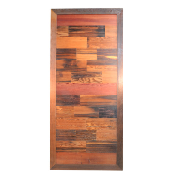 Redwood Wine Tank Sliding Barn Door