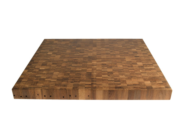 Large Oak End Grain Cutting Board