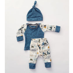 3pc Baby Boy L/S Set