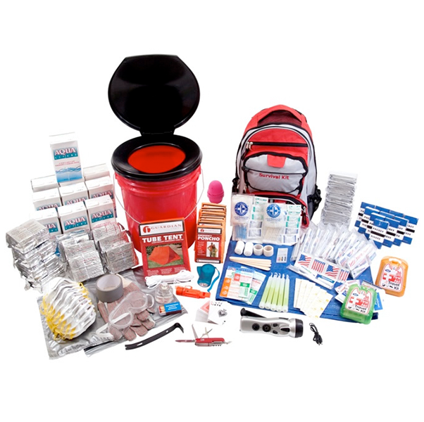 10 Person Deluxe Office Survival Kit