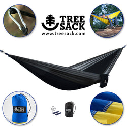 Tree Sack - Camping Hammock - Single Person Backpacking Hammock