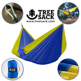 Tree Sack - Camping Hammock - Double - 2 Person Backpacking Hammock