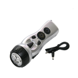 Dynamo Radio Flashlight 4in1