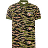 OAKLEY TIGER CAMO PIQUET POLO - Malbon Golf