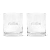 Bobby Buckets Scotch Glass (2-Pack) - Malbon Golf