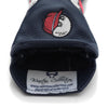 Dancing Buckets Leather Fairway Wood Headcover - Malbon Golf