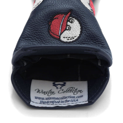 Dancing Buckets Leather Hybrid Headcover - Malbon Golf