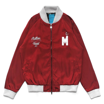 Malbon Golf x Hotel 1171 Satin Buckets Bomber Jacket - Malbon Golf
