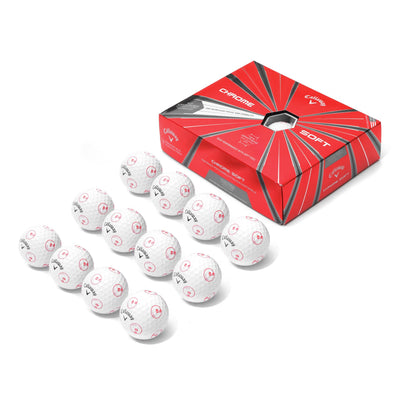 Malbon x Callaway Chrome Soft Golf Ball (1 Dozen) - Malbon Golf