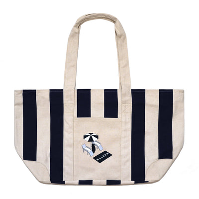 Malbon Country Club Canvas Tote - Malbon Golf