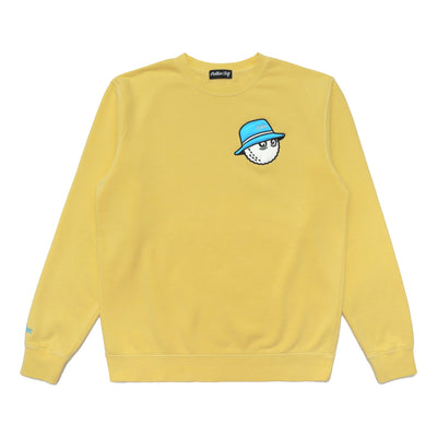 Malbon x Play Yellow Cooper Buckets Crewneck Sweatshirt - Malbon Golf