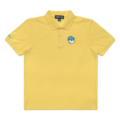 Malbon x Play Yellow Youth Buckets Polo - Malbon Golf