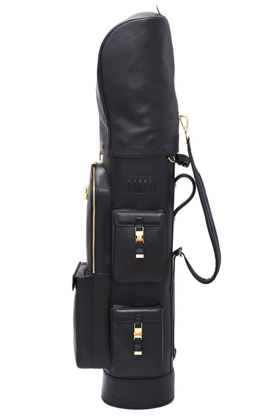 Buscemi x Malbon Full-Grain Italian Calf Leather Golf Bag