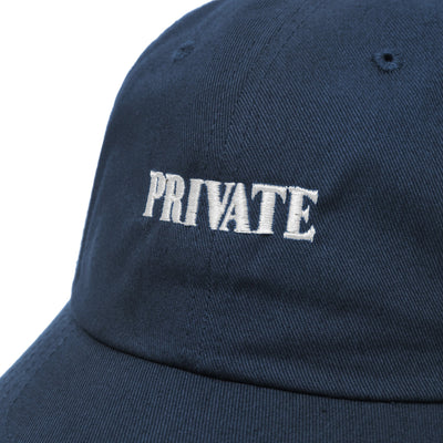 PRIVATE DAD HAT - Malbon Golf