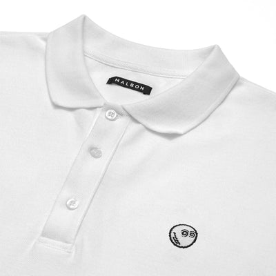 The Buckets Logo Pique Polo - Malbon Golf