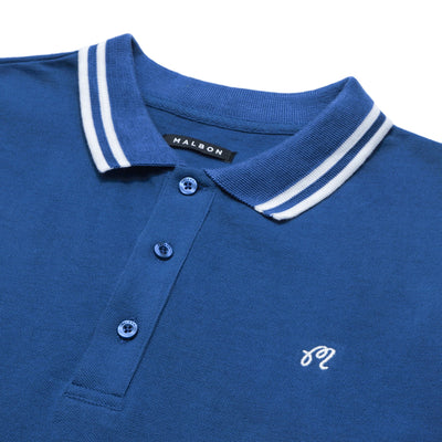 "The ""M"" Logo Pique Polo - Malbon Golf"