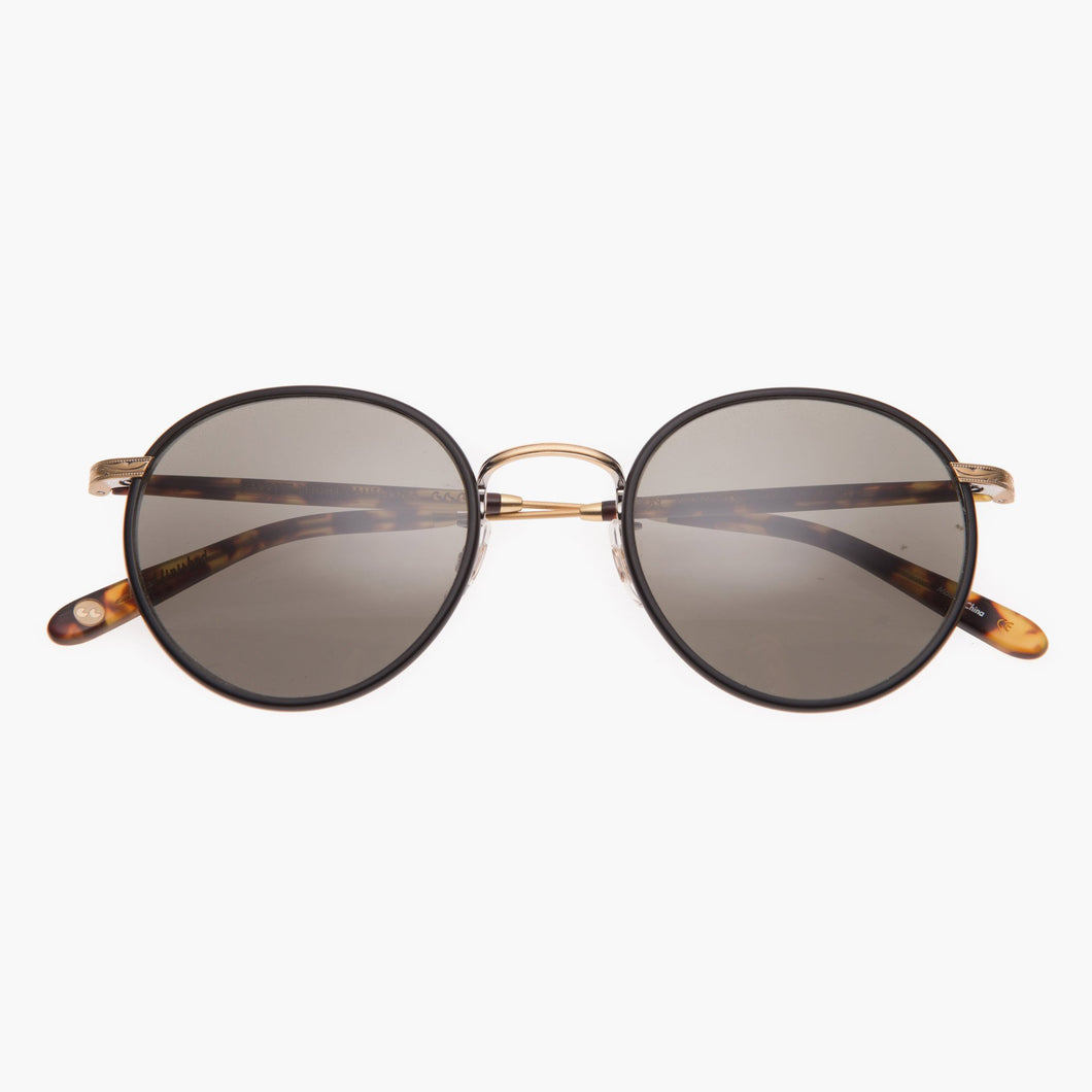 Garrett Leight Grant 49 (Bourbon Tortoise-Gold-Dark Tortoise With Pure Brown Glass)