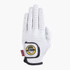 Malbon Golf Buckets Glove in White & Green