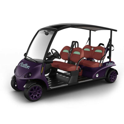 GARIA VIA 4 MALBON EDITION – LAUNCH SPECIFICATION (4-SEATER) [STREET LEGAL US] - Malbon Golf