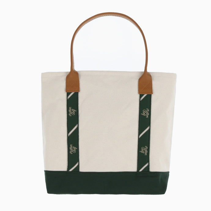 Malbon Golf Ribbon Lined Tote (Medium)