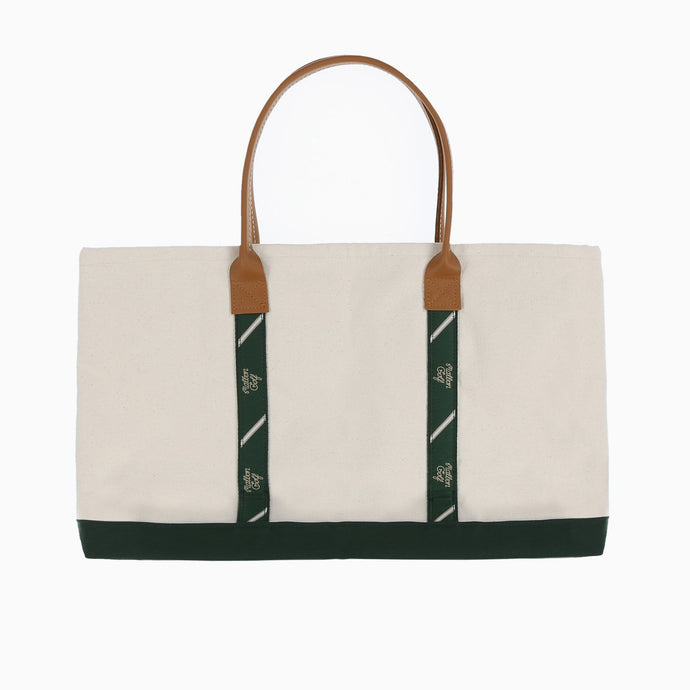 Malbon Golf Ribbon Lined Tote (Large)
