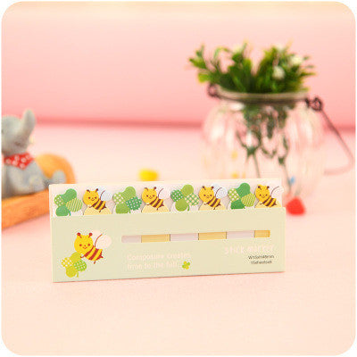 Bees Small Incredibly Adorable Page Markers/Post It Notes