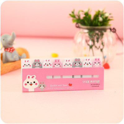 Bunnies Small Incredibly Adorable Page Markers/Post It Notes