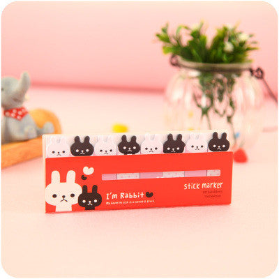 Black and White Cats Small Incredibly Adorable Page Markers/Post It Notes