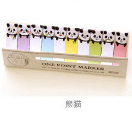 Pandas Small Incredibly Adorable Page Markers/Post It Notes