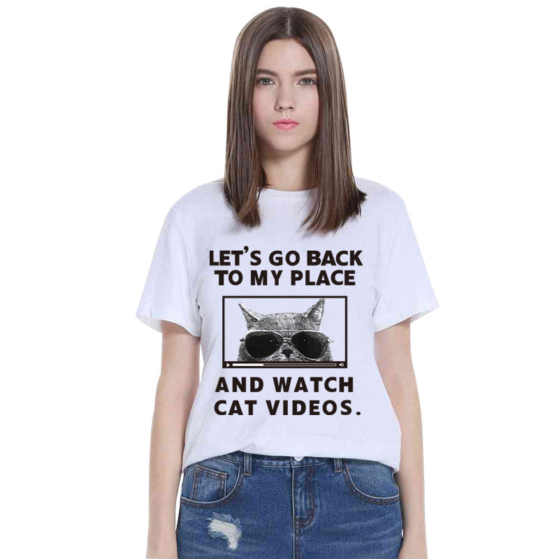 [XS-4XL] Let's Go Back to My Place Shirt