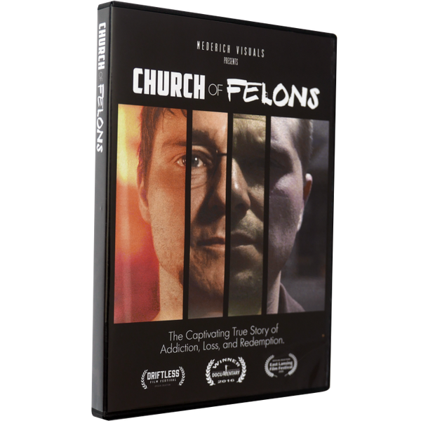 Church Of Felons Limited Edition DVD