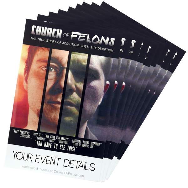 Church Of Felons Customizable Posters