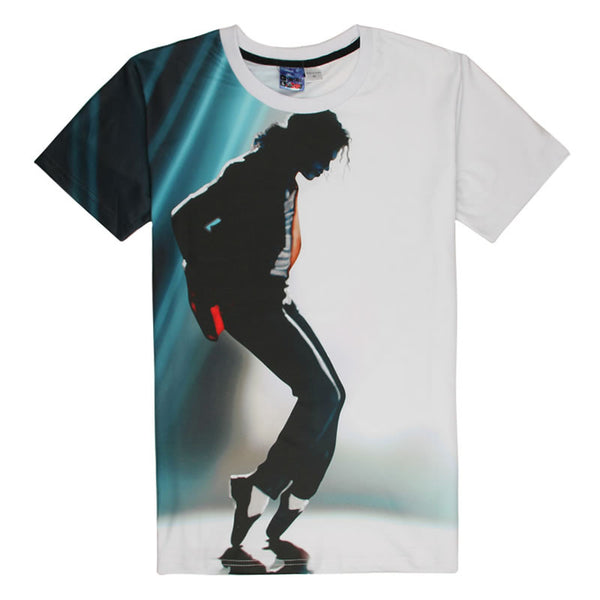 Michael Jackson Slim Summer Rock Tee