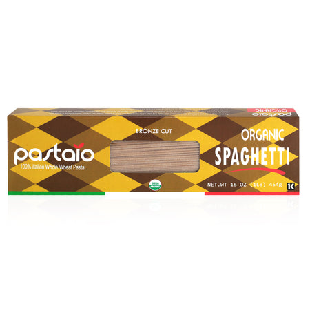 ORGANIC WHOLE WHEAT SPAGHETTI- 6 Pack