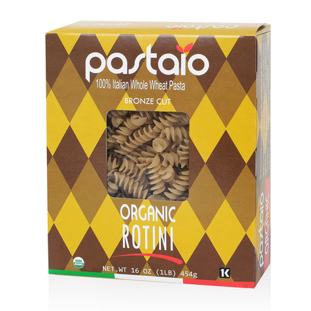 ORGANIC WHOLE WHEAT ROTINI- 6 Pack