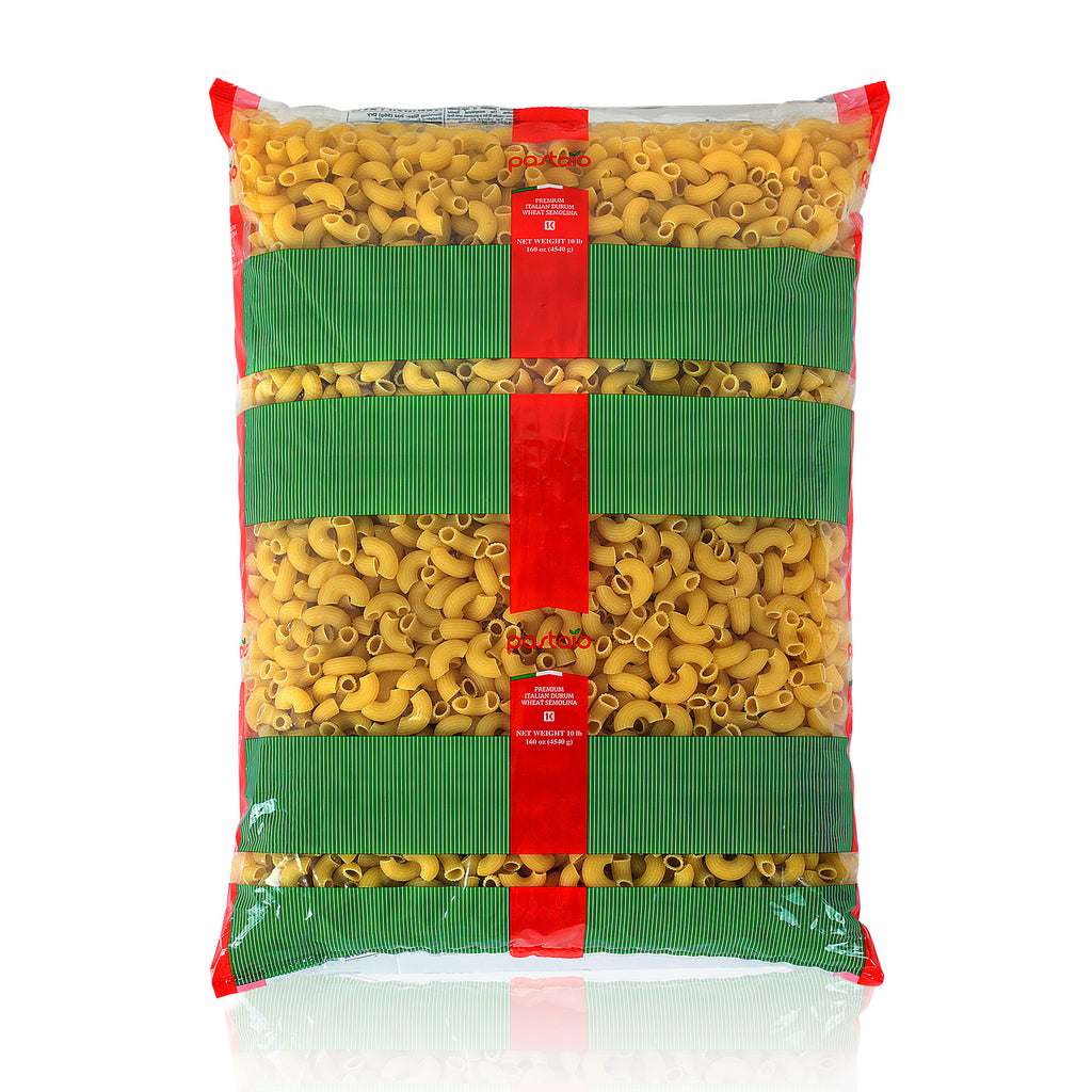 DURUM WHEAT MACARONI (ELBOWS) 10LBS PACK 2