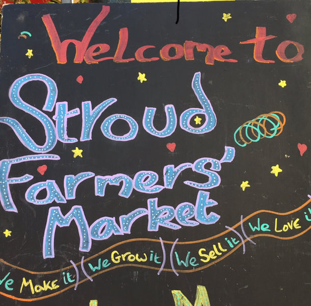 We're back at Stroud Farmers' Market on Saturday 26 September